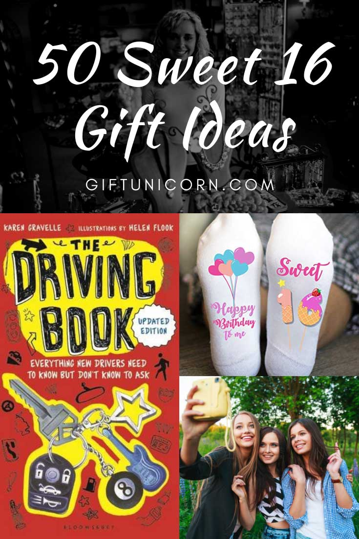 50 Sweet Birthday Gift Ideas For Her Sweet Sixteen Giftunicorn