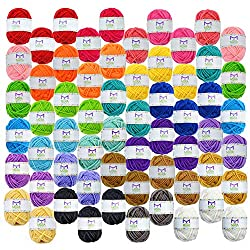60 yarn skeins