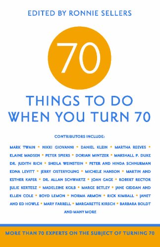 70 thing to do when you turn 70 book