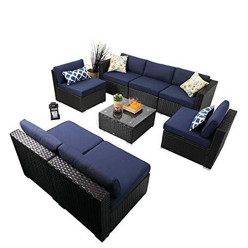 8 piece outdoor furniture set