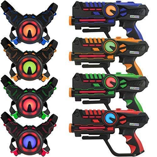 ArmoGear laser tag blasters and vests