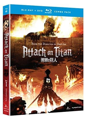 attack on Titan par 1 blu ray