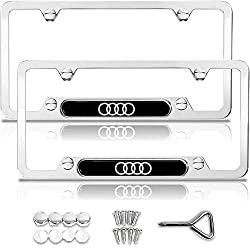 Audi license plate frame