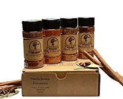 BBQ rub and spices gift set
