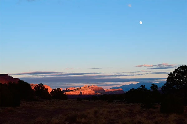 Camping and Stargazing in Capitol Reef