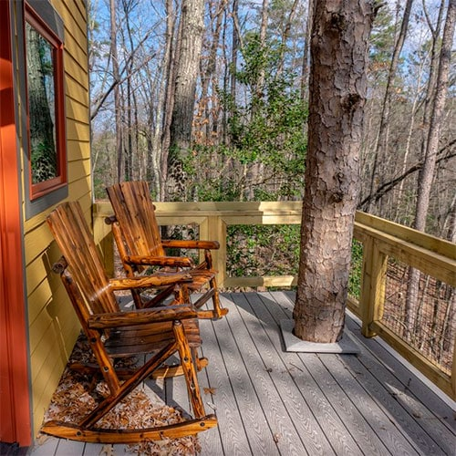 Chattooga river treehouse overnight stay