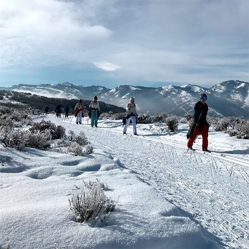 Cross-Country Skiing Adventure