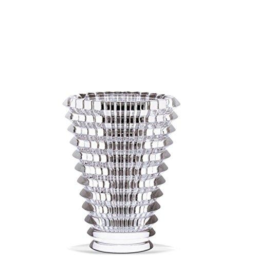 Crystal medium oval eye vase