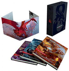 D&D rule books gift set