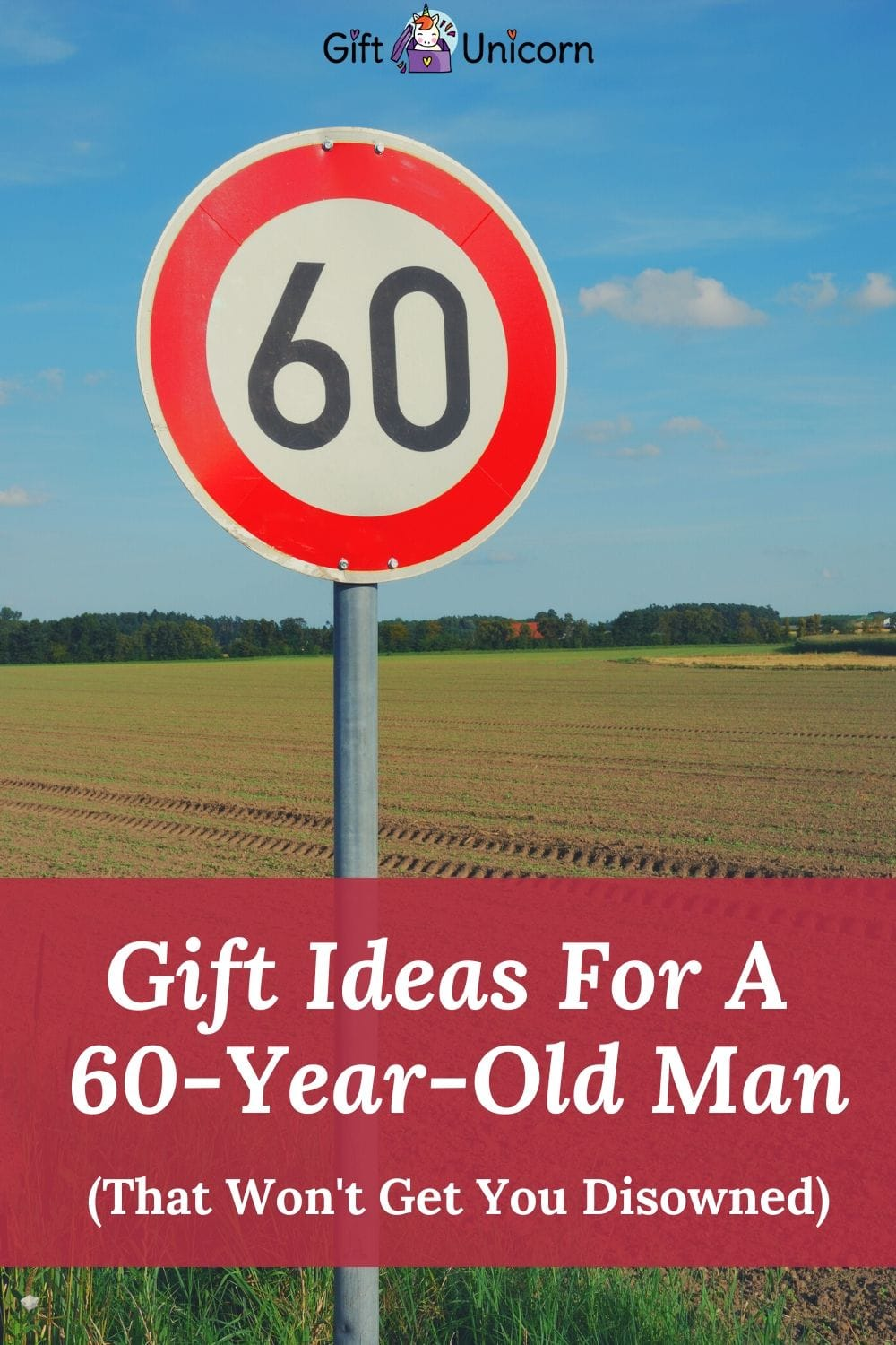 gift ideas for a 60 years old man pin image