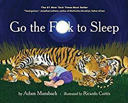 Go the fuck to sleep book
