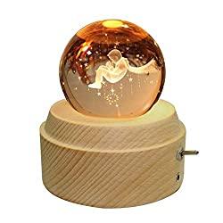 LED crystal ball