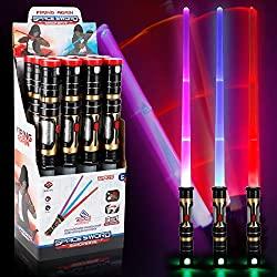 LED laser swords