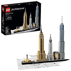 LEGO architecture New York city model
