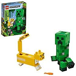 LEGO minecraft bigFig and ocelot