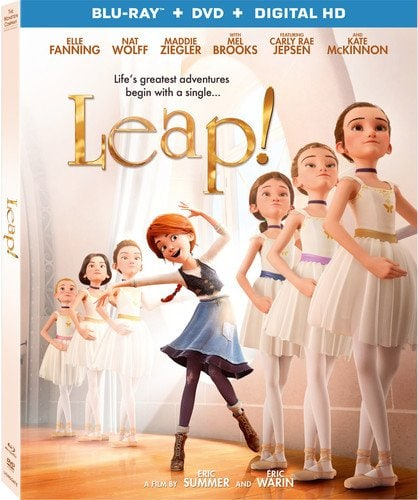 Leap movie DVD or Blu ray