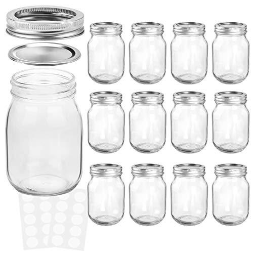 mason jars 12 oz