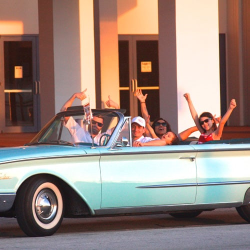 Miami convertible tour for up to 4
