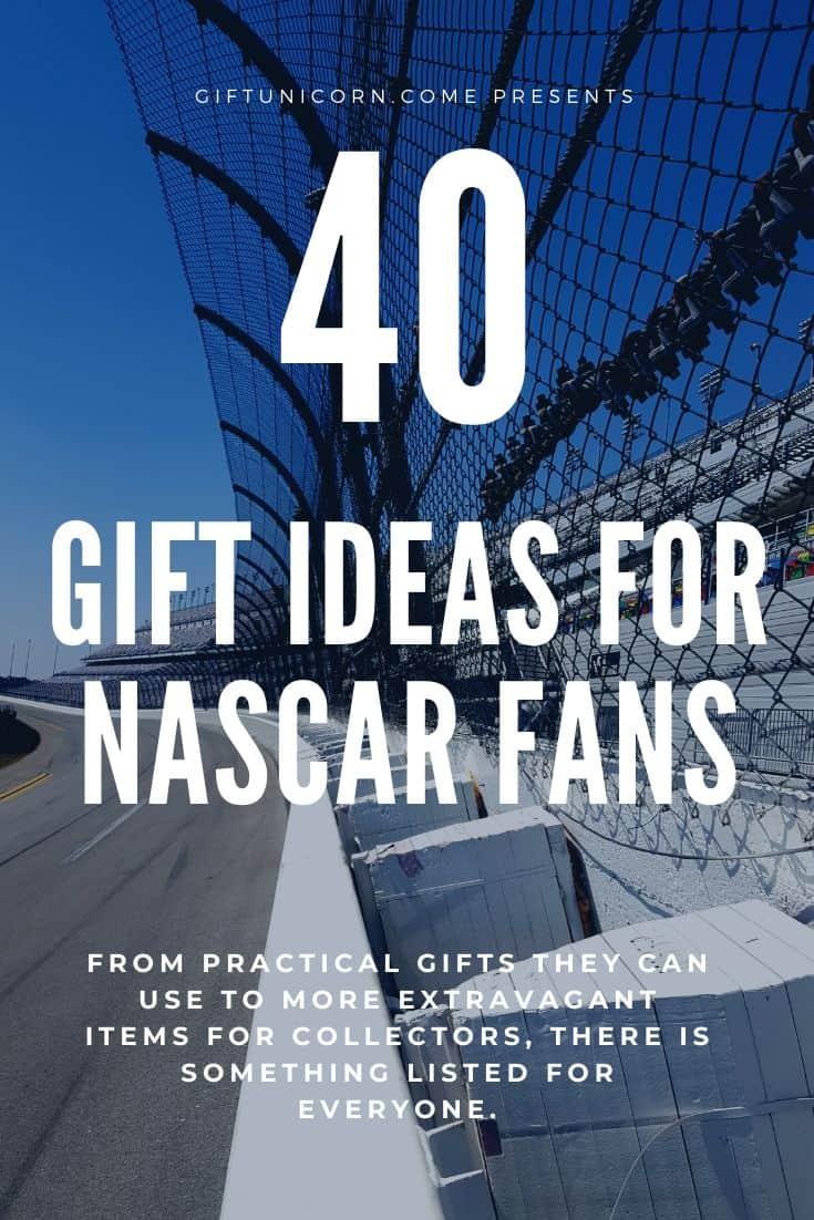 nascar gift ideas pin image