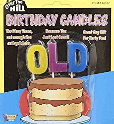 OLD birthday candles