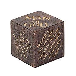 Scripture blok cube