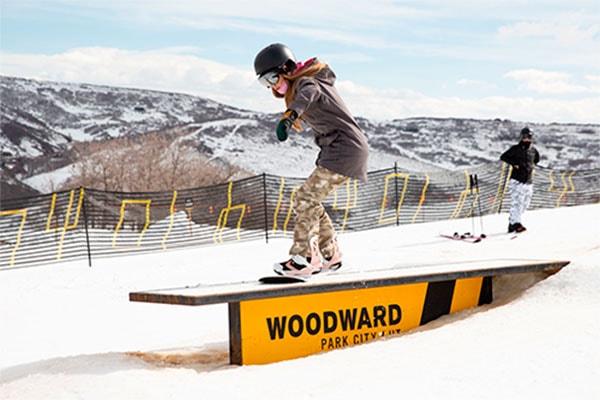 Snow Tubing at Woodward