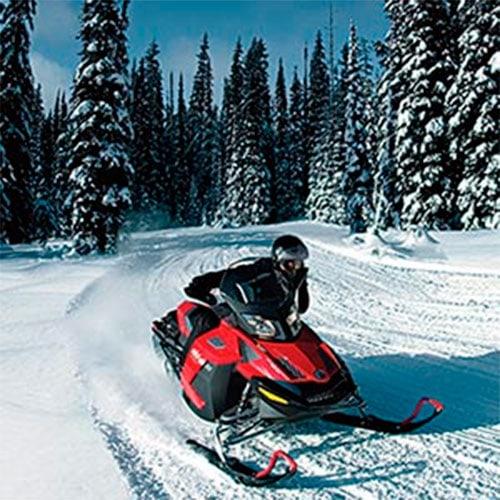 Snowmobiling Trip at Lofty Peaks Adventures