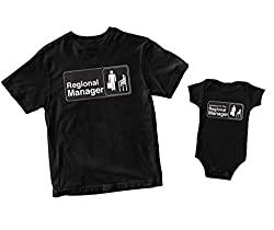 T-shirt and bodysuit set