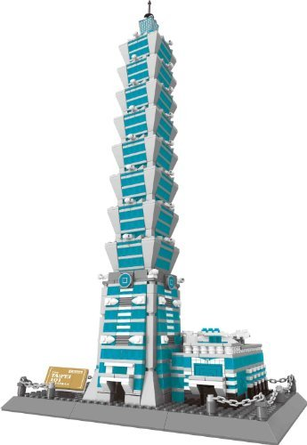 Taipei 101 building blocks