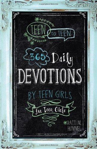 Teen to teen book
