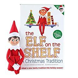 The Elf on the shelf storybook