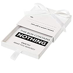 The present of nothing box