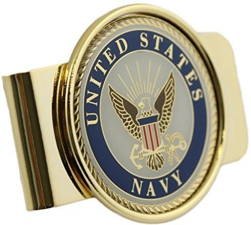 US Navy logo money clip