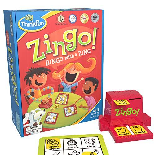 Zingo bingo game
