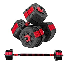 adjustable dumbbell barbell weights
