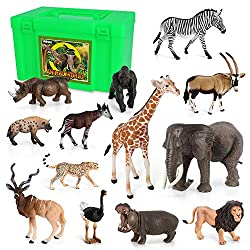 african animal figurines