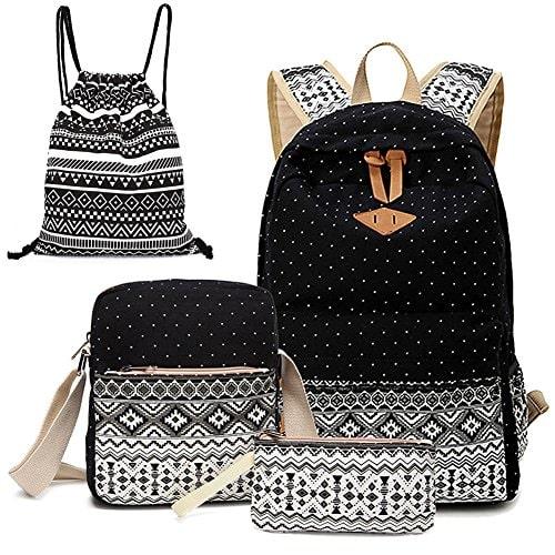 Alando canvas dot backpack