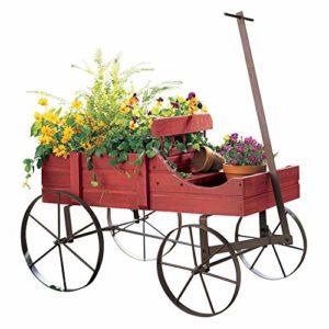 amish wagon planter