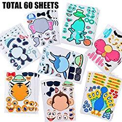 animal stickers kit