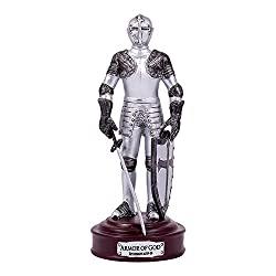 Armor of knight figurine