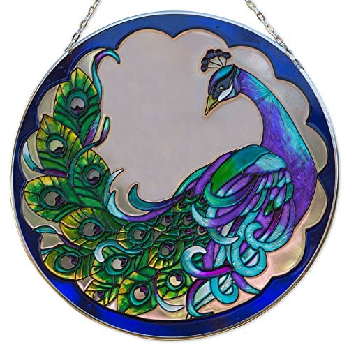 art glass suncatcher