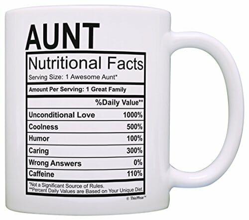 auntie funny mug