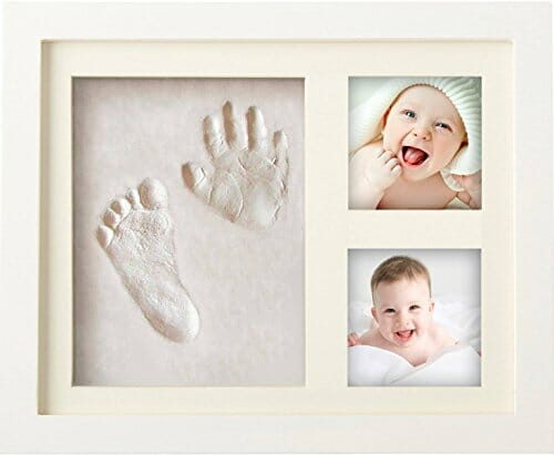 new born baby hand print frame