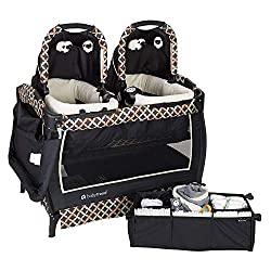 baby trend twin nursery center play