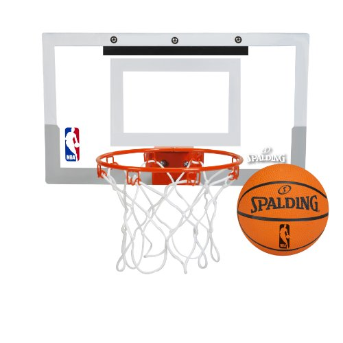 backboard and NBA replica ball