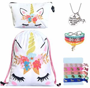 backpack with unicorn accessories