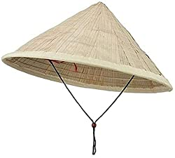 bamboo cone hat