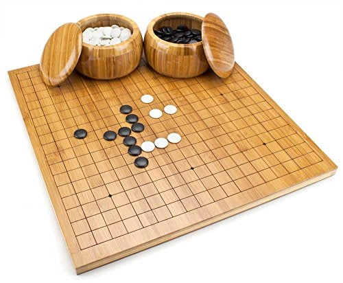 bamboo go set board game