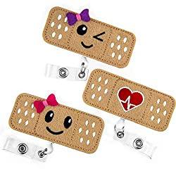 band aid badge holders