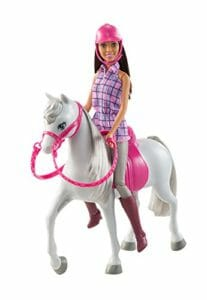 Barbie with her horse